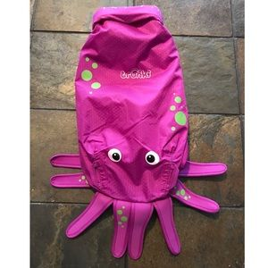 Trunki Paddlepak Inky The Purple Octopus Backpack